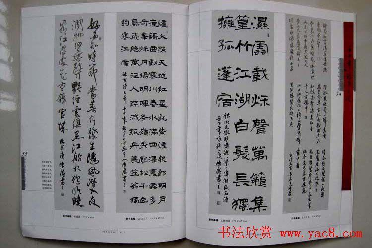 江苏陈广书法作品集