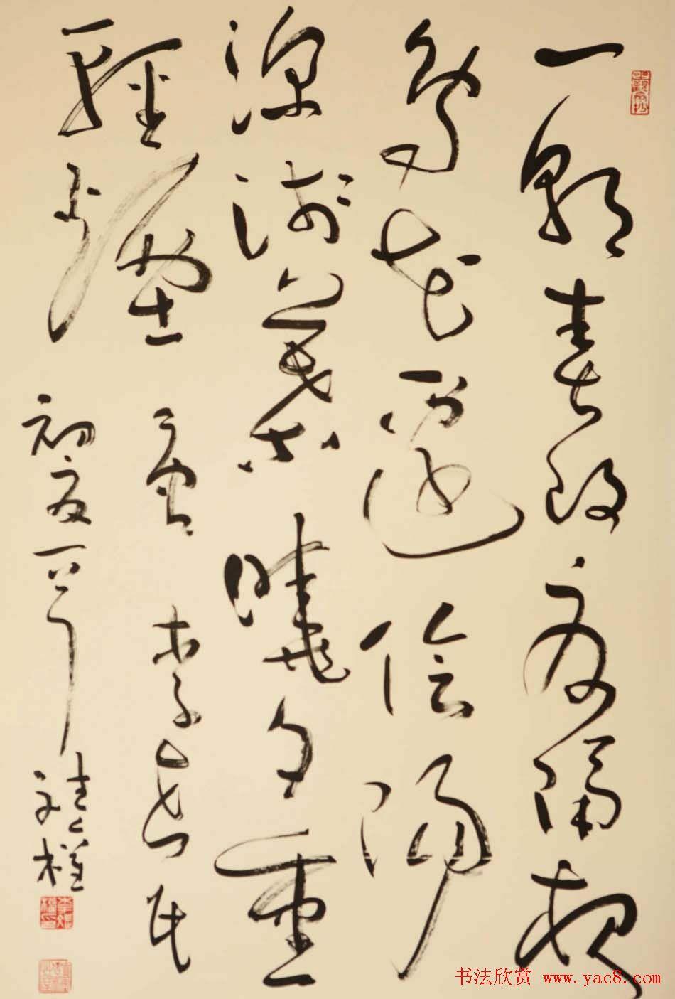 李斌权书法草书作品欣赏 第22页 毛笔书法 书法欣赏