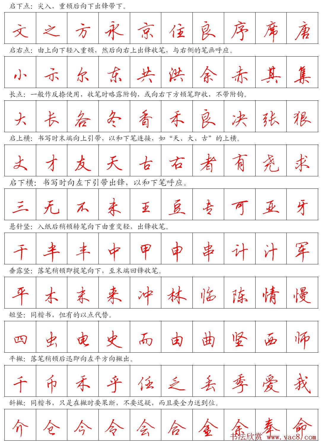 钢笔书法字帖_钢笔书法设计图