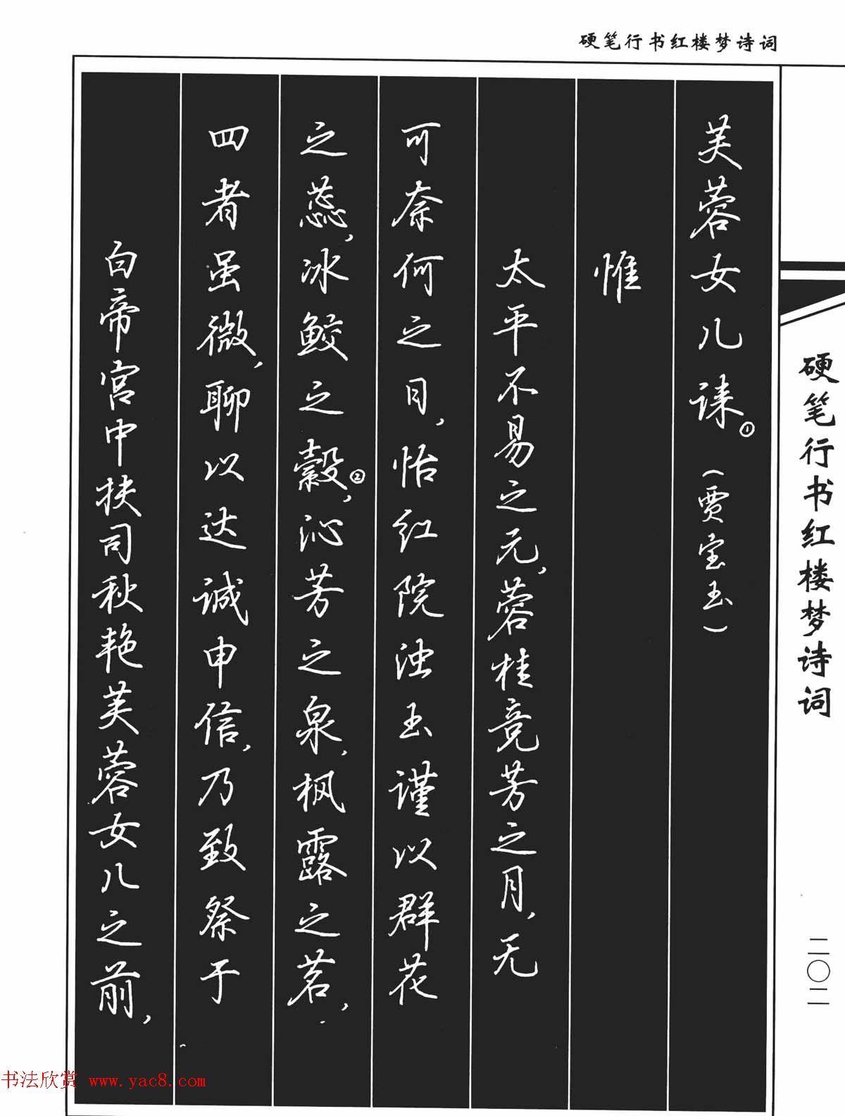 钢笔字帖行书下载分享展示图片