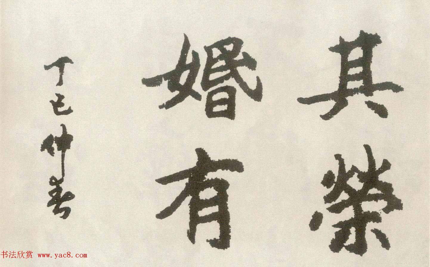 胡问遂楷书临魏碑三种 第9页 书法空间 书法欣赏图片