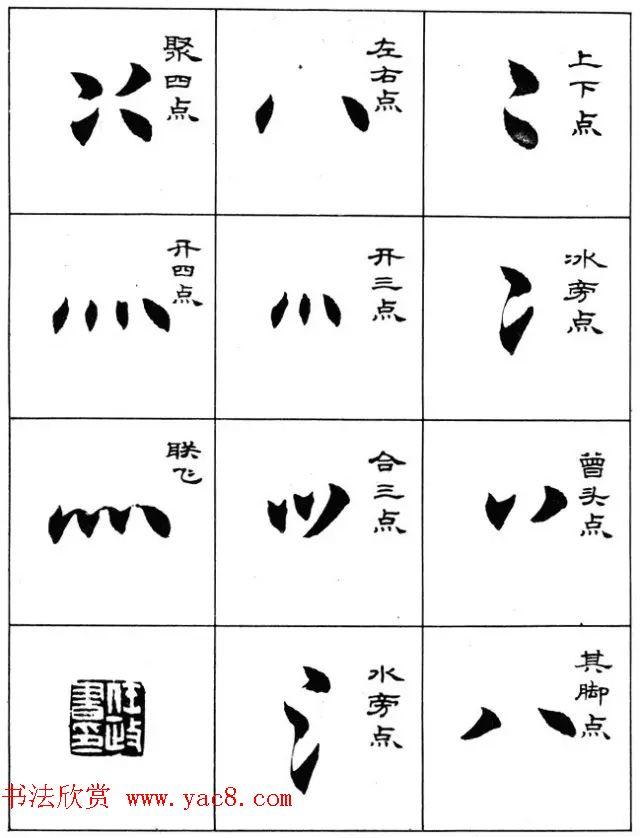 毛笔字帖--任政楷书成语习字帖