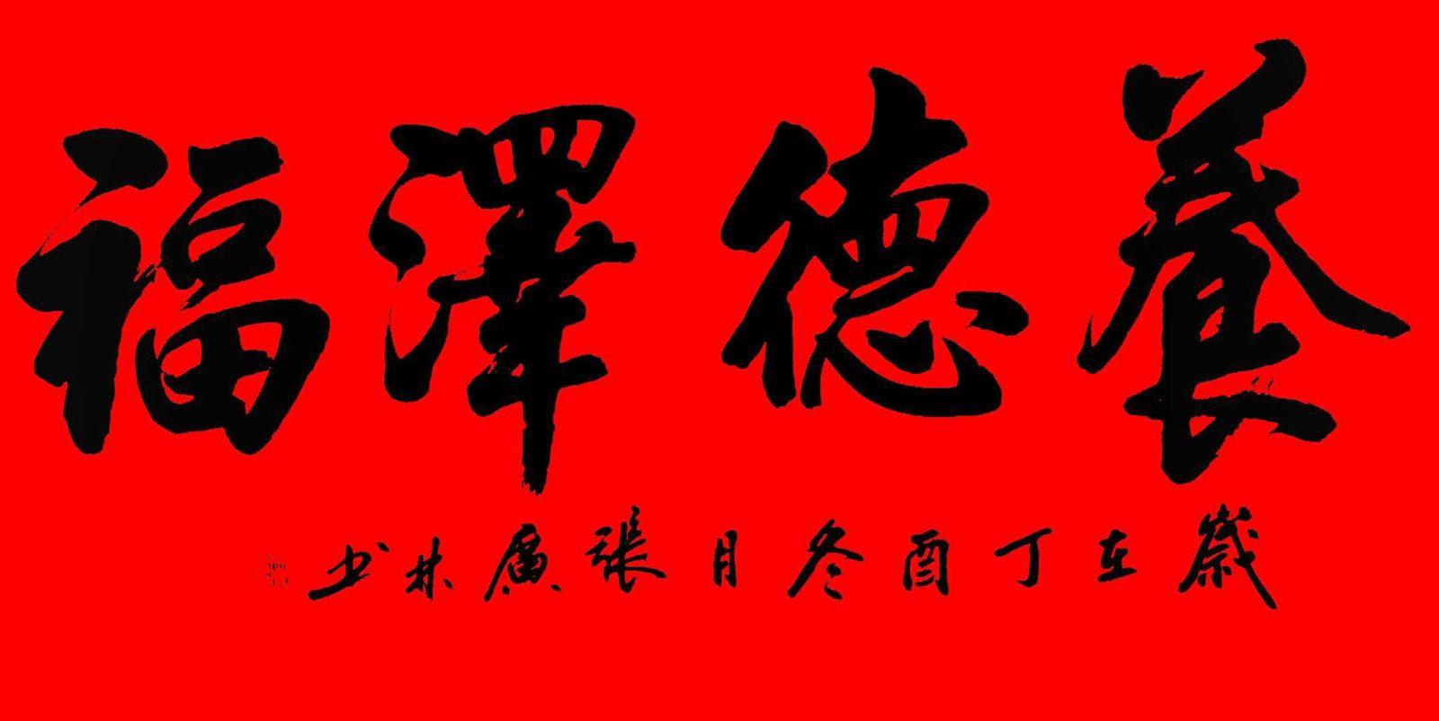 陕西岐山县张广林书法作品选刊