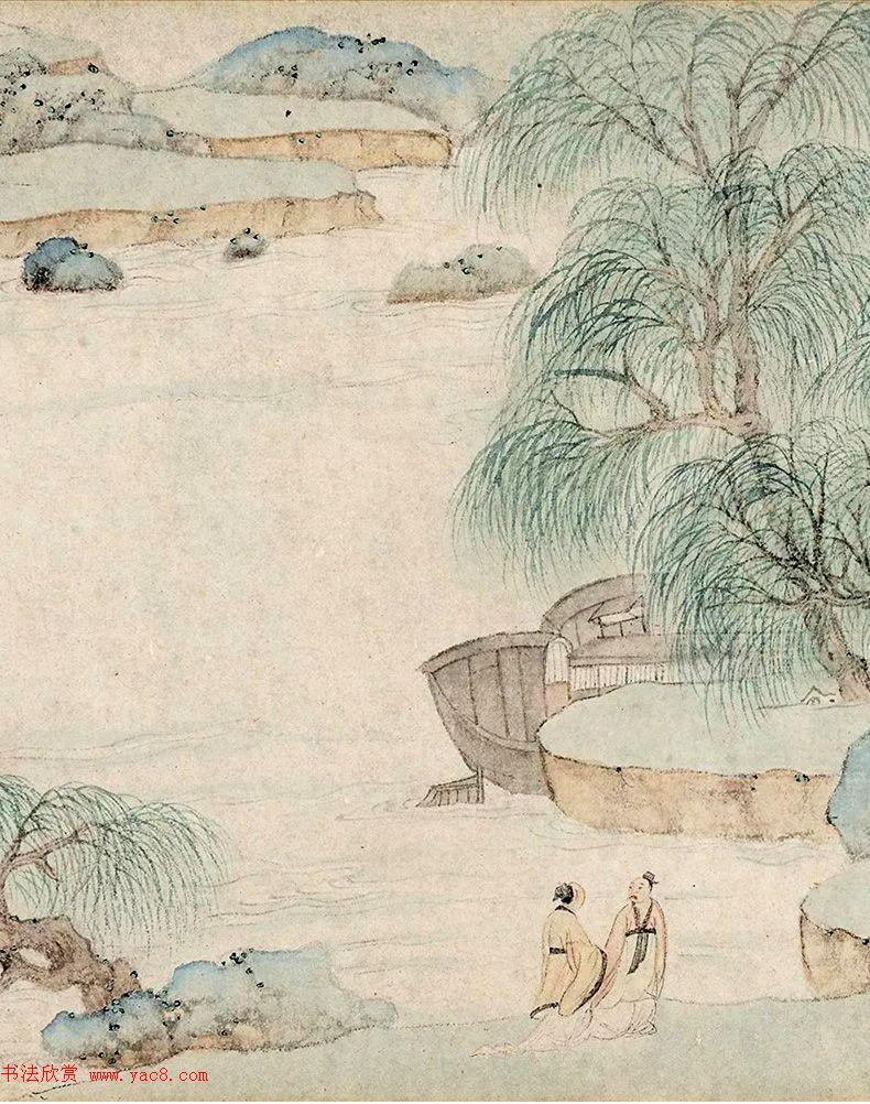 文徵明72岁书画《溪堂䜩别图》8797.5万元成交