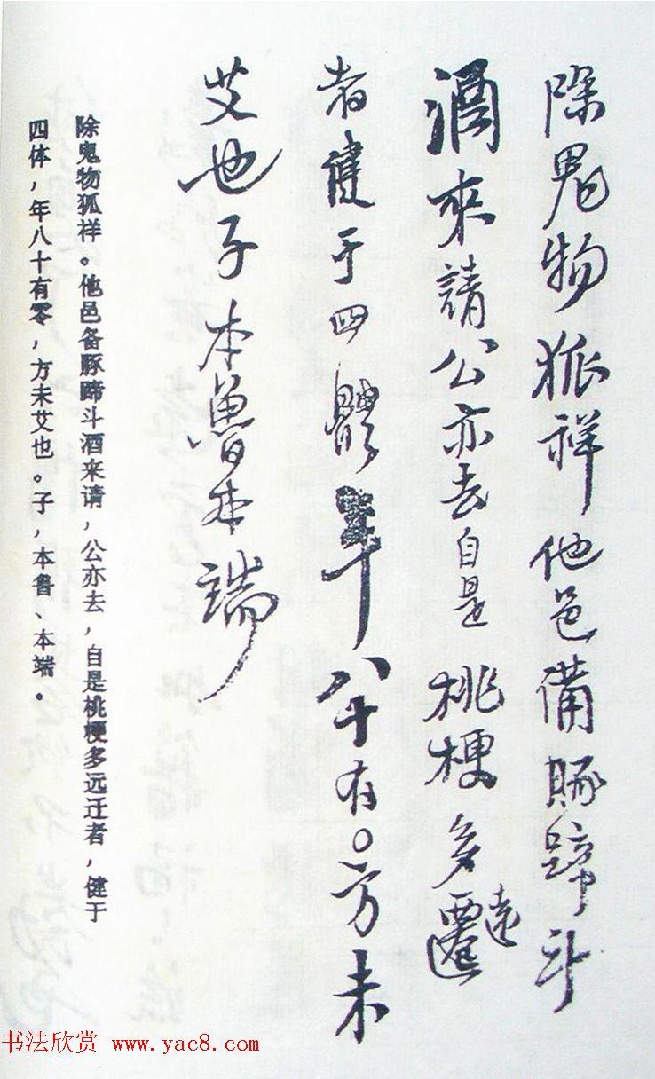 王铎行书欣赏《王氏家谱》