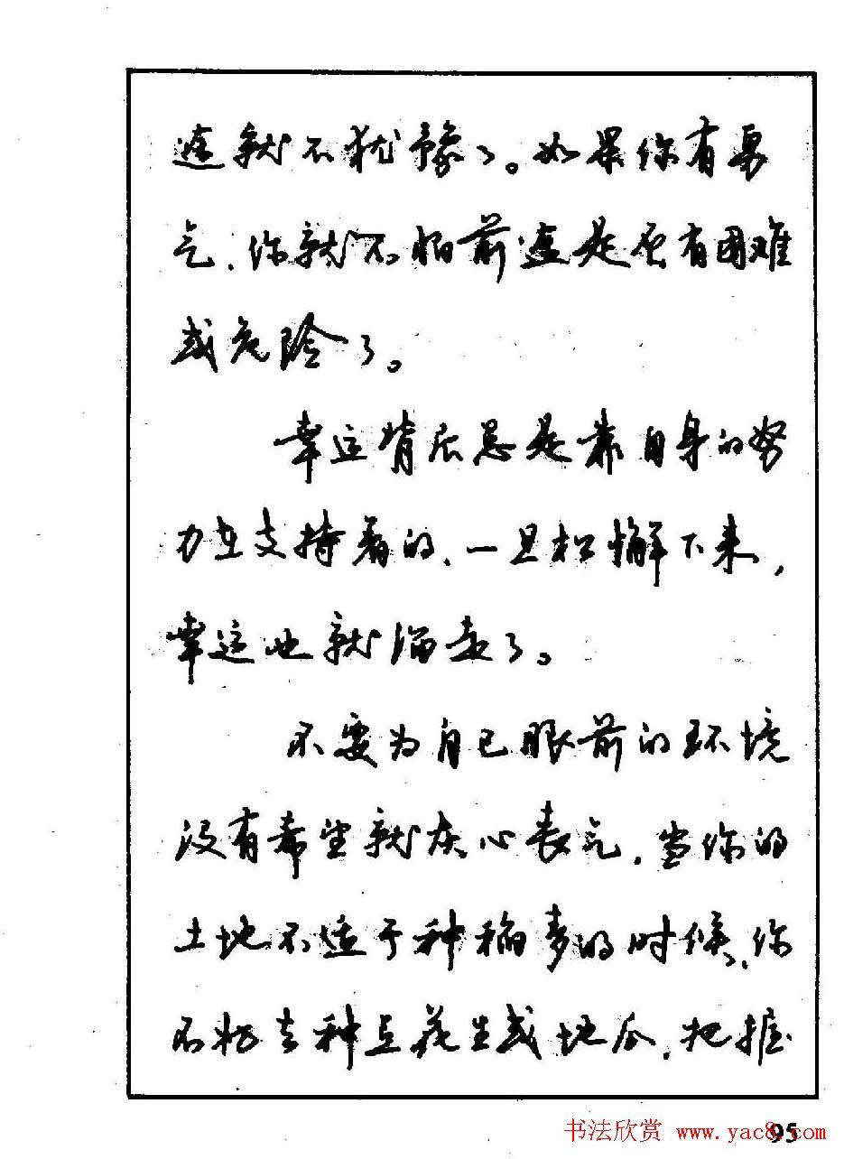 沈鸿根钢笔行书字帖欣赏(49)图片